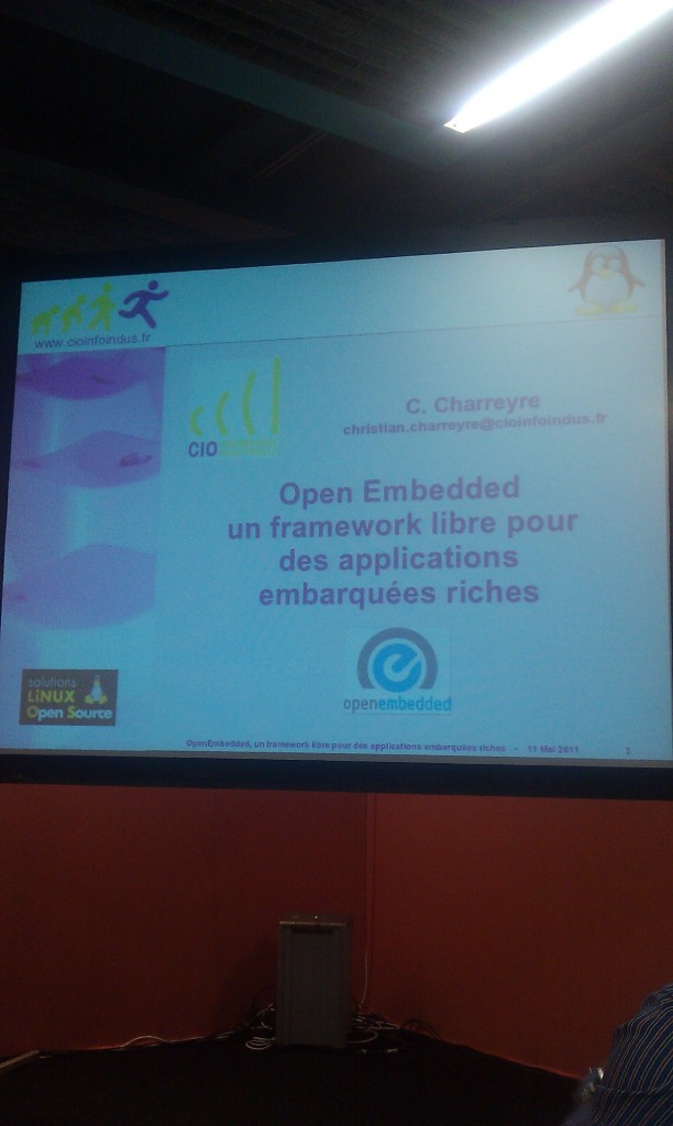 Troisime confrence sur OpenEmbedded