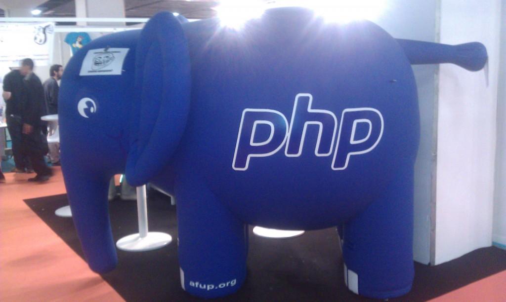 Un éléphant PHP géant ! Cooool