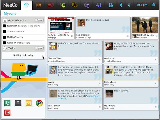 MeeGo v1.1 Netbook