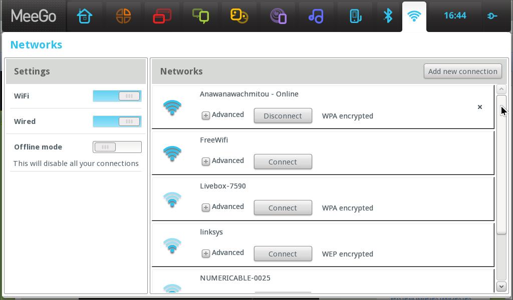 Interface réseaux