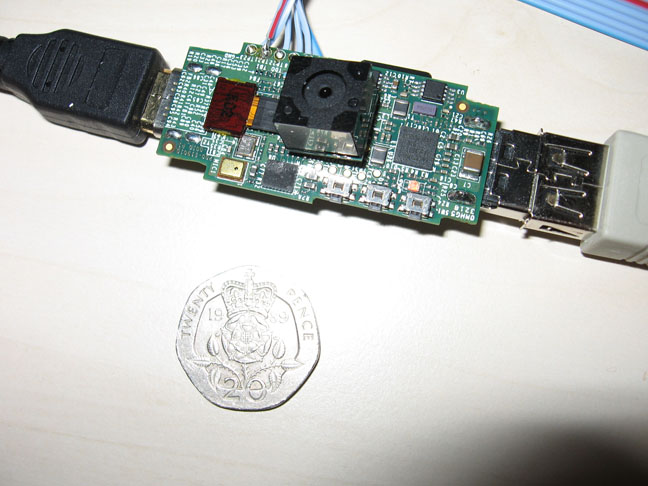 Le système Raspberry Pi avec un module caméra